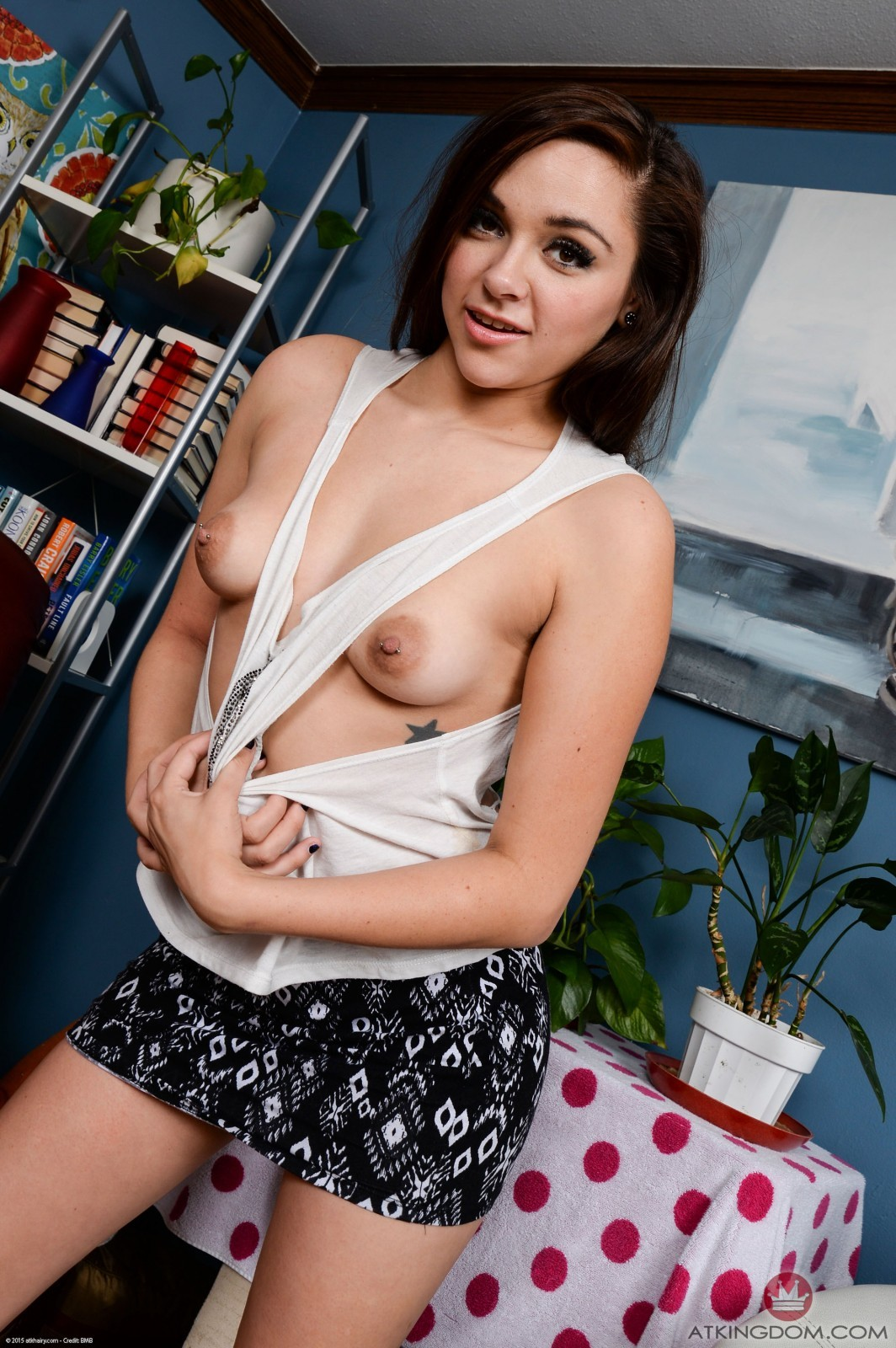 Zoey Is Cute Hairy Teen 37