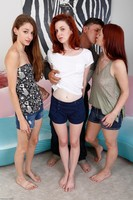 Hairy Mom Violet Monroe In Foursome